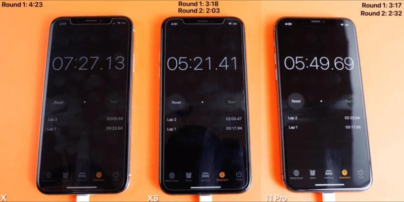iPhone 11 Pro ile iPhone XS kozlarını paylaştı