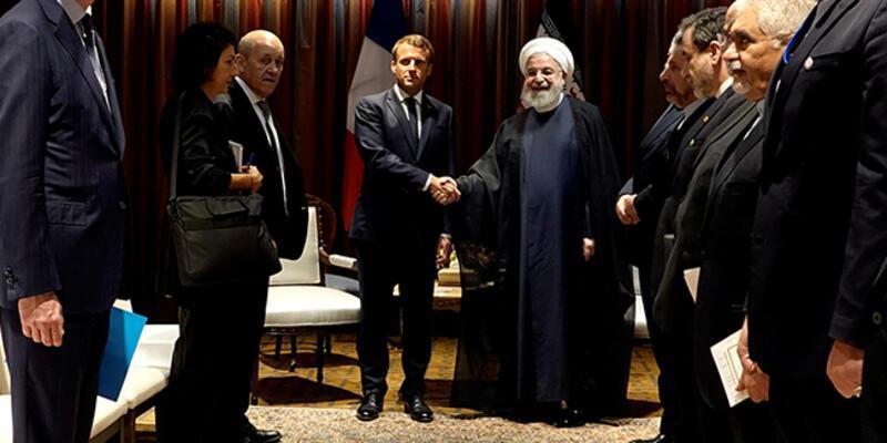 Ruhani umudunu Macron'a bağladı: Yaptırımlar kalkabilir