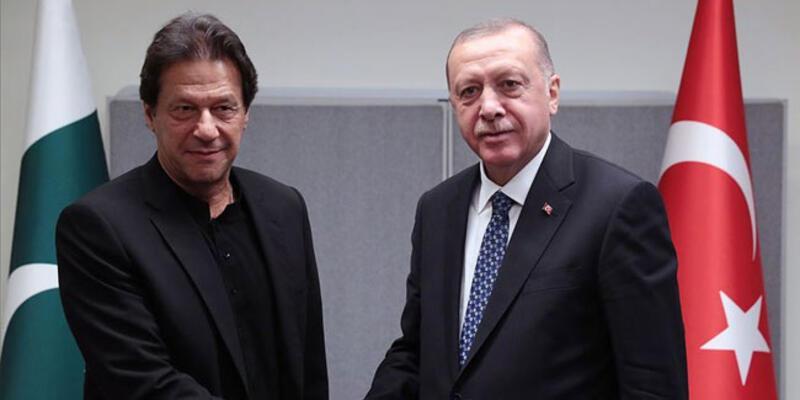 Pakistan Başbakanı'ndan Erdoğan'a teşekkür