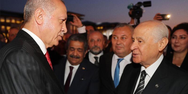 Bahçeli'den Cumhurbaşkanı Erdoğan'a tebrik telefonu