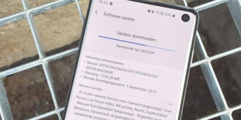 Galaxy S10, S10+ ve S10e için yeni bir güncelleme yayınlandı