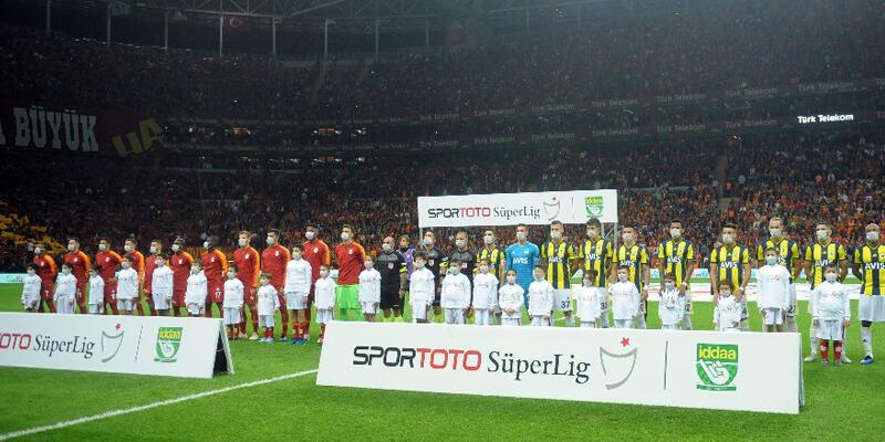 TT Stadı'nda 11. Galatasaray-Fenerbahçe derbisi