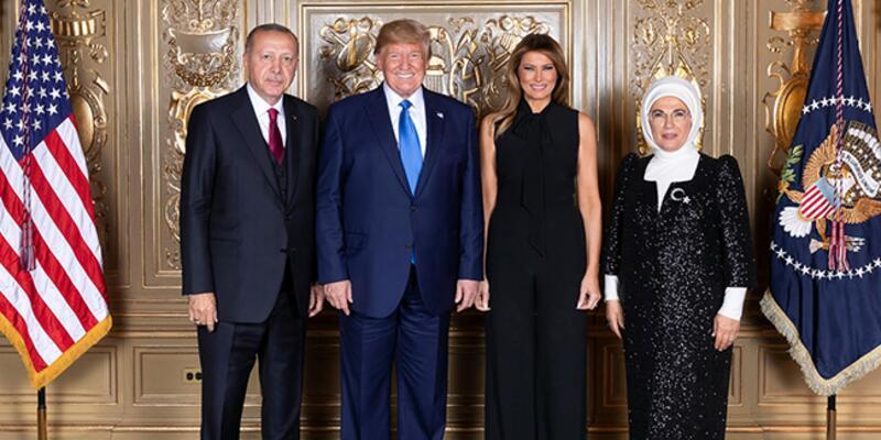 Cumhurbaşkanı Erdoğan ve eşi Emine Erdoğan, BM Genel Kurul Heyet Başkanları onuruna verilen yemeğe katıldı