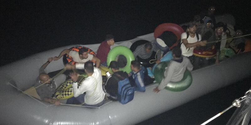 Datça'da 51 kaçak göçmen yakalandı