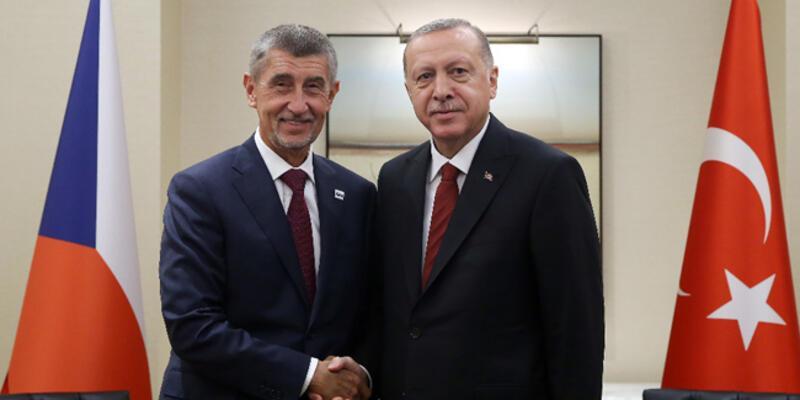 Cumhurbaşkanı Erdoğan, Babis'i kabul etti