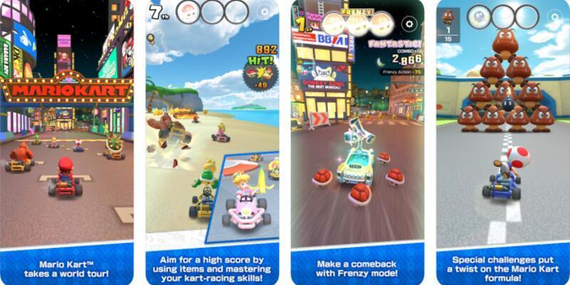 Mario Kart Tour iOS ve Android için yayınlandı