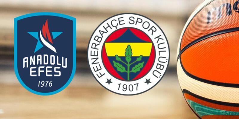 Anadolu Efes Fenerbahçe basketbol maçı ne zaman, saat kaçta, hangi kanalda?