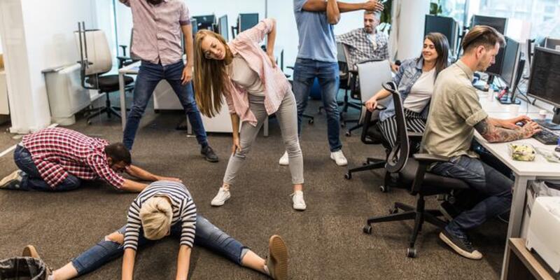 Ofiste sağlıklı kalmanın 6 püf noktası
