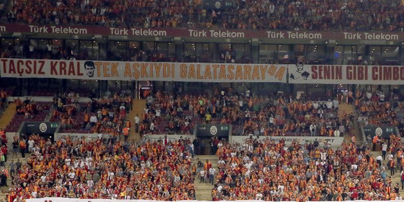 Galatasaraylı taraftarlardan özel hazırlık