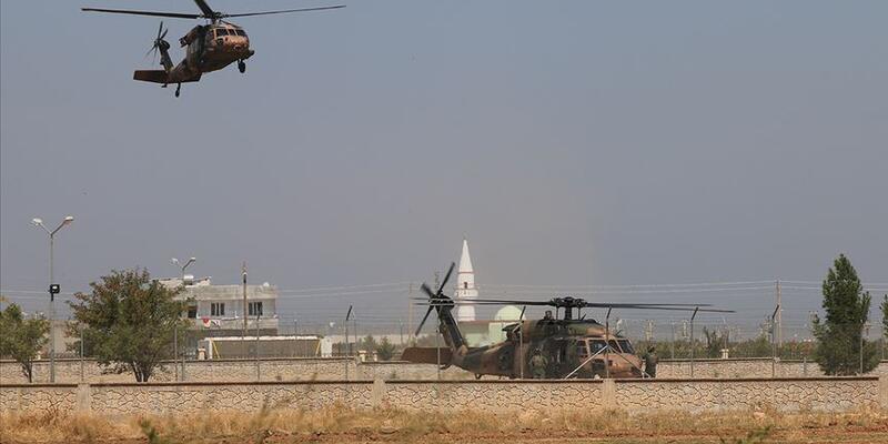 Son dakika: Fırat'ın doğusunda yedinci ortak helikopter uçuşu