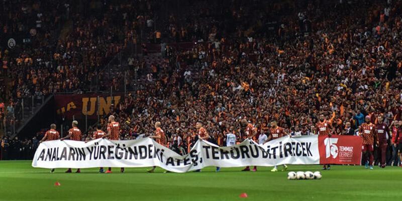 Galatasaray'dan derbide Şampiyonlar Ligi göndermesi!
