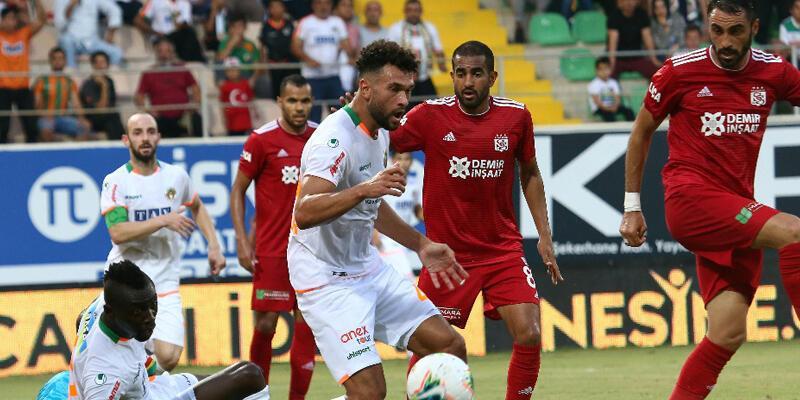 Alanyaspor - Sivasspor: 1-1