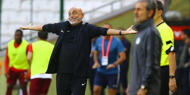Konya'da 3 gol, 3 kırmızı kart