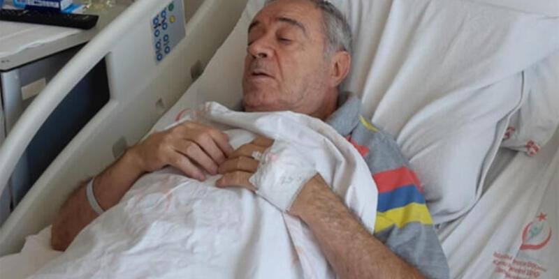 'Ateşböceği Ercan' hastaneye kaldırıldı