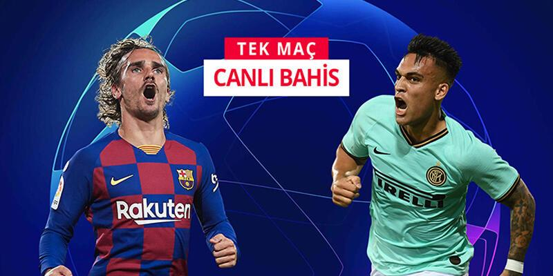 Barcelona-Inter maçına misli.com'da CANLI OYNA
