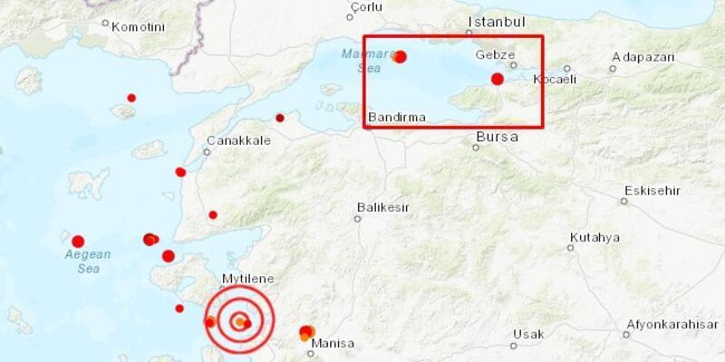Deprem mi oldu? Kandil son depremler tablosu: Marmara - İstanbul