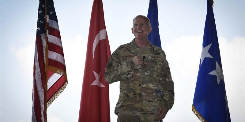 ABD Hava Kuvvetleri Komutan Yardımcısı Orgeneral Wilson İncirlik'te