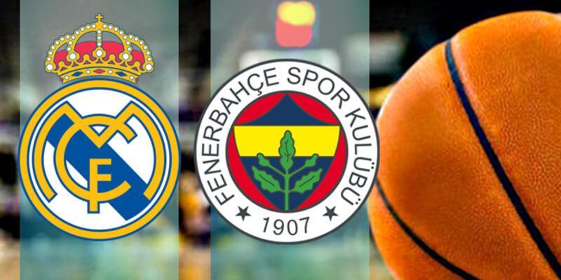 Real Madrid Fenerbahçe Beko basketbol maçı ne zaman, saat kaçta, hangi kanalda?