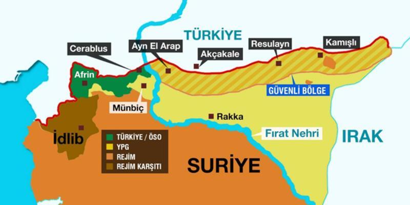 Pentagon'dan 'güvenli bölge' açıklaması: Türkiye'ye güvenimiz tam