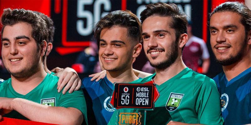 Vodafone 5G ESL Mobile Open'da Türk Takım şampiyon oldu