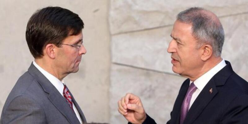 Milli Savunma Bakanı Hulusi Akar, ABD'li mevkidaşı Esper ile görüştü