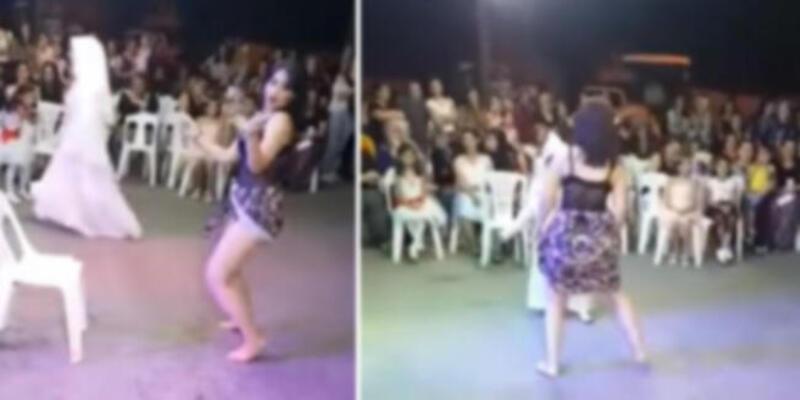 Sünnet düğünündeki görüntülerde yer alan dansöz için karar verildi