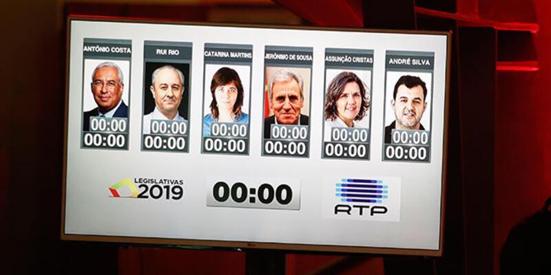 Portekiz'de 10 milyon seçmen sandığa gidiyor
