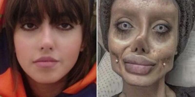'İran'ın Angelina Jolie'si' tutuklandı