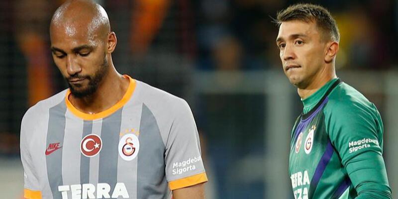 Galatasaray'da yıkılmayan ikili Muslera ve Nzonzi