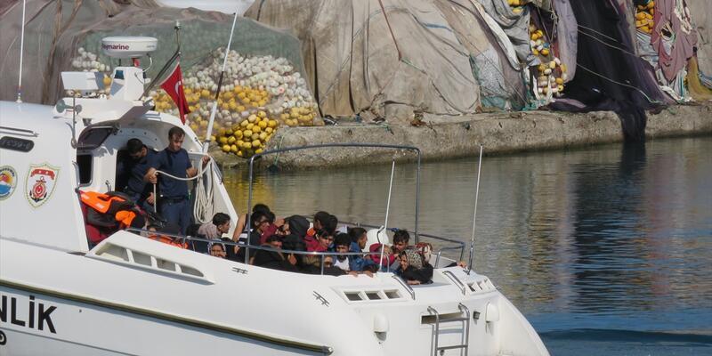 Çanakkale'de 105 düzensiz göçmen yakalandı