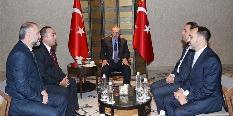 Erdoğan, Sırbistan Başbakan Yardımcısı Ljajic'i kabul etti