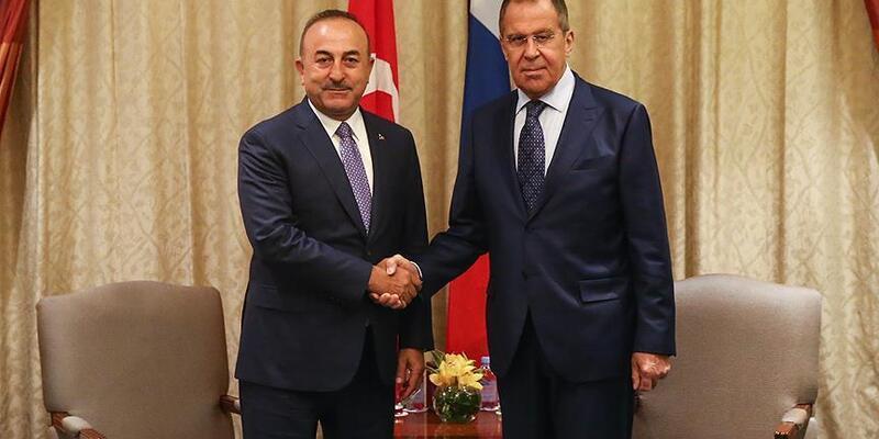 Son dakika: Lavrov ve Çavuşoğlu Suriye'nin kuzeydoğusunu görüştü