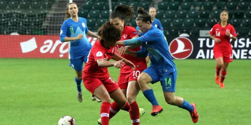 Türkiye Slovenya'ya 6-1 yenildi