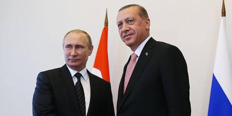 Son dakika... Cumhurbaşkanı Erdoğan ve Putin'den Suriye görüşmesi