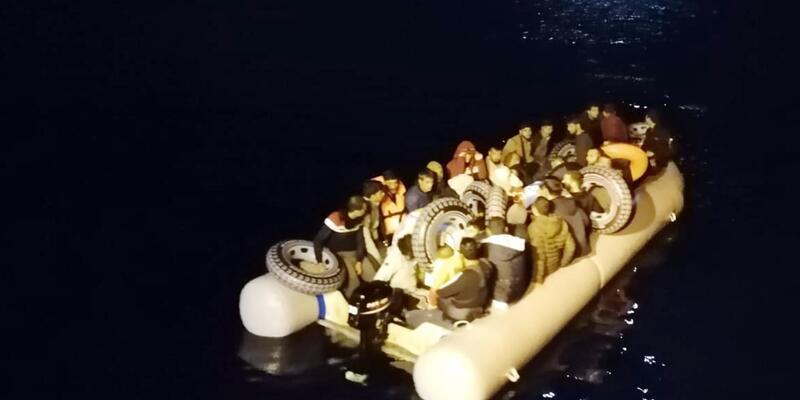 Datça'da 31 göçmen yakalandı
