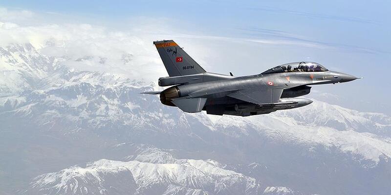 Irak'ın kuzeyine hava harekatı! 3 terörist etkisiz hale getirildi