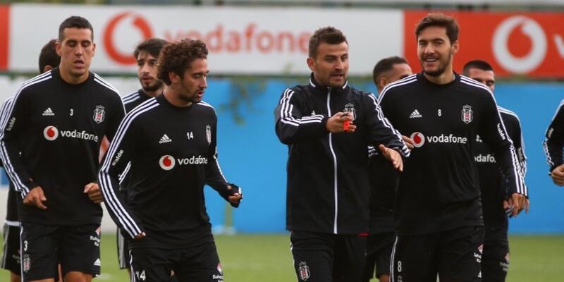 Beşiktaş'ta iki isim idmana katılmadı