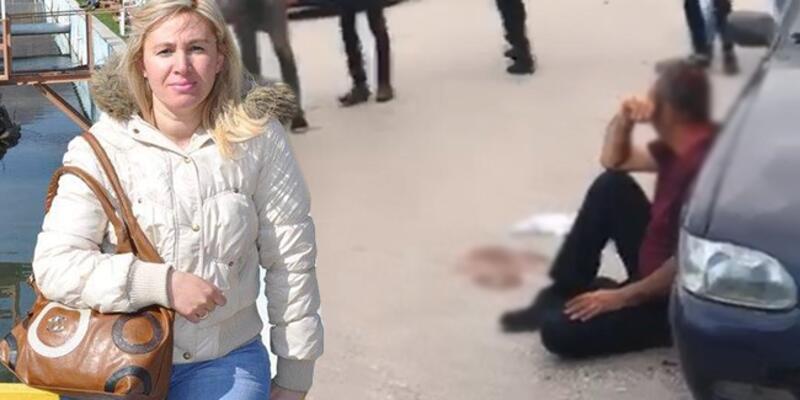 Eski eşini satırla yaralayan saldırgana mahalleliden dayak