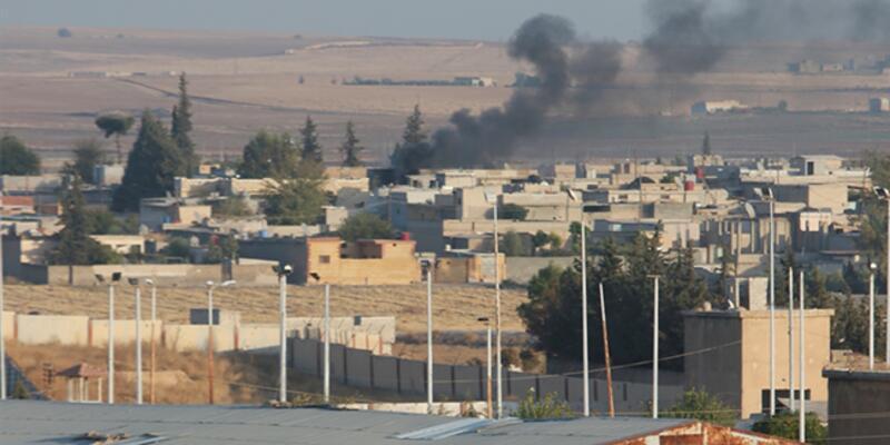 Tel Abyad'daki terör hedefleri obüs atışlarıyla vuruldu