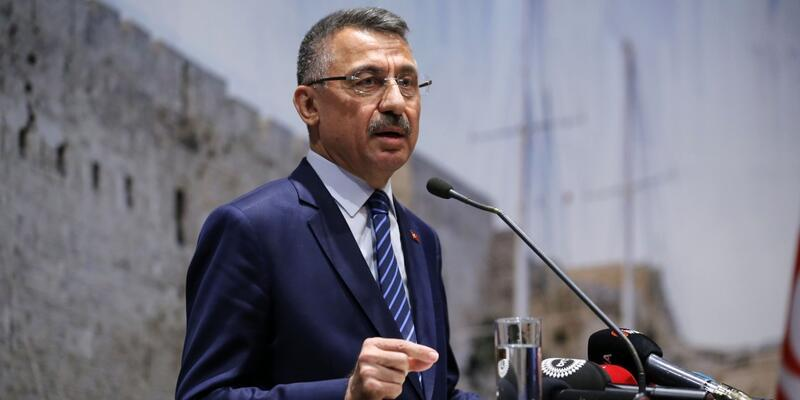 Oktay'dan KKTC Cumhurbaşkanı Akıncı'ya kınama