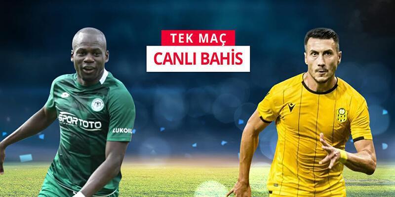 Konyaspor-Yeni Malatyaspor maçı CANLI BAHİS'le Misli.com'da