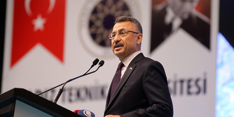 Cumhurbaşkanı Yardımcısı Fuat Oktay'dan güvenli bölge açıklaması