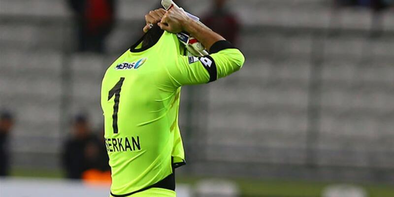 Serkan Kırıntılı Türk futbol tarihinin en erken kırmızı kartını gördü