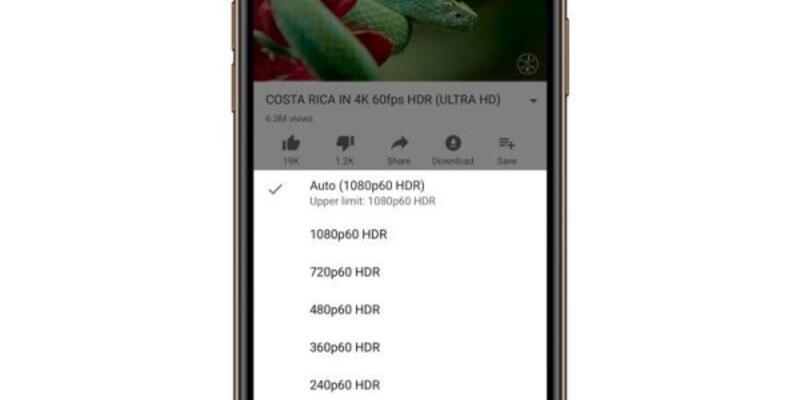 YouTube HDR özelliği iPhone 11 ailesine eklendi
