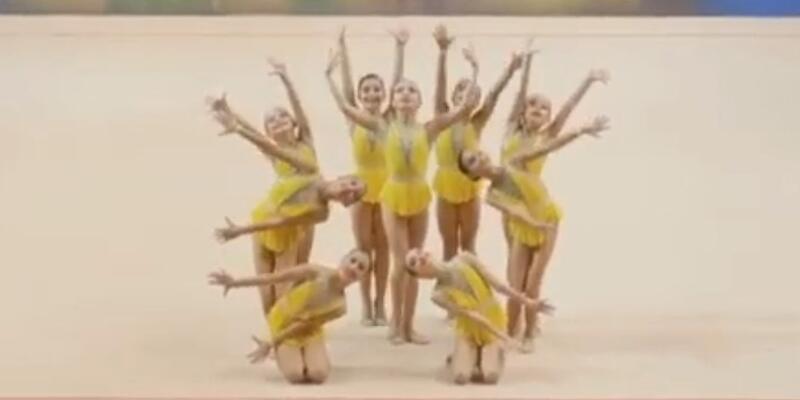Şavkar Cimnastik Kulübü Estonya'da duble yaptı