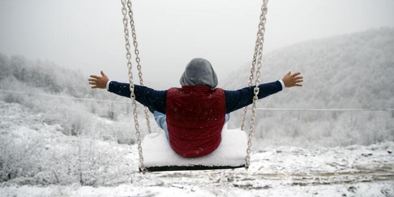 İstanbul'da kasım ayında kar sürprizi