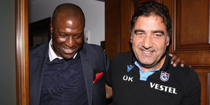 Kevin Campbell'dan Trabzonspor'a ziyaret