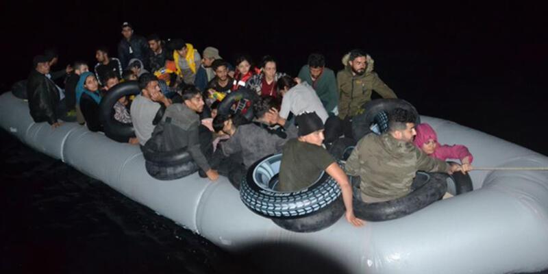 İzmir'de 138 düzensiz göçmen yakalandı