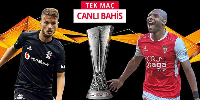 Beşiktaş-Braga maçına Misli.com'da CANLI OYNA!