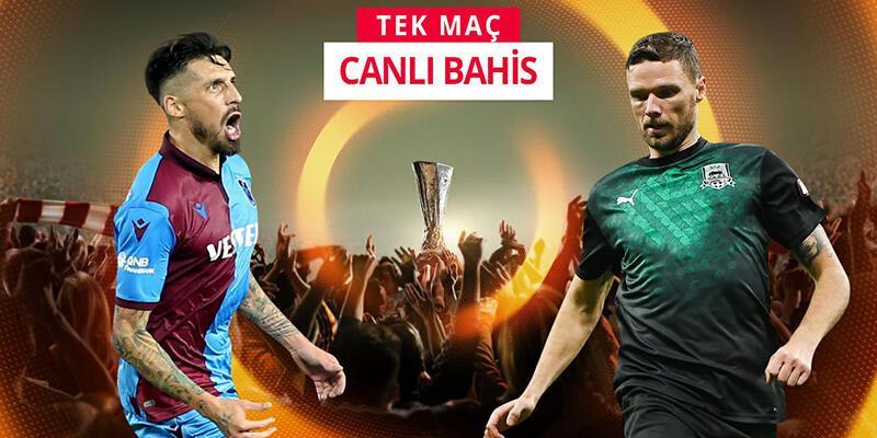 Trabzonspor-Krasnodar maçına Misli.com'da CANLI OYNA!